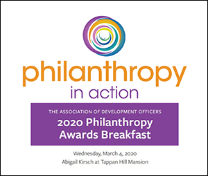 The Association of Development Officers – Philanthropy Awards Breakfast – 3/4/2020