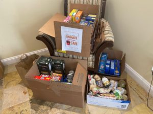 Fall Food Drive Collection