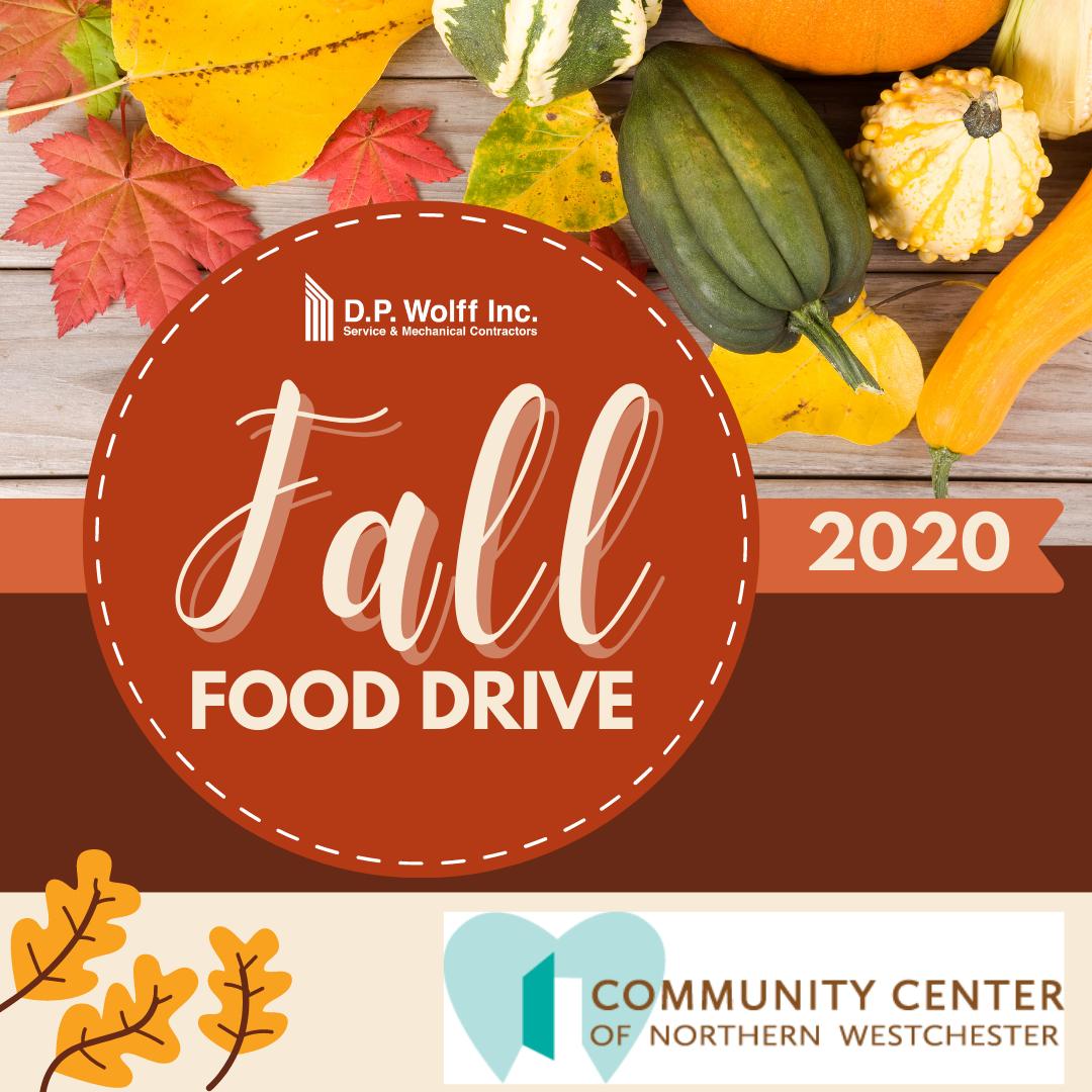 Fall Food Drive